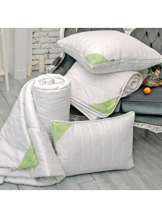 Подушка с бортиком - «Бамбук»
