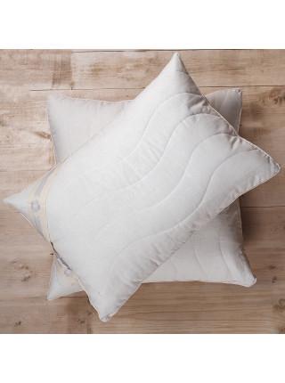 Подушка с бортиком - «Лен»