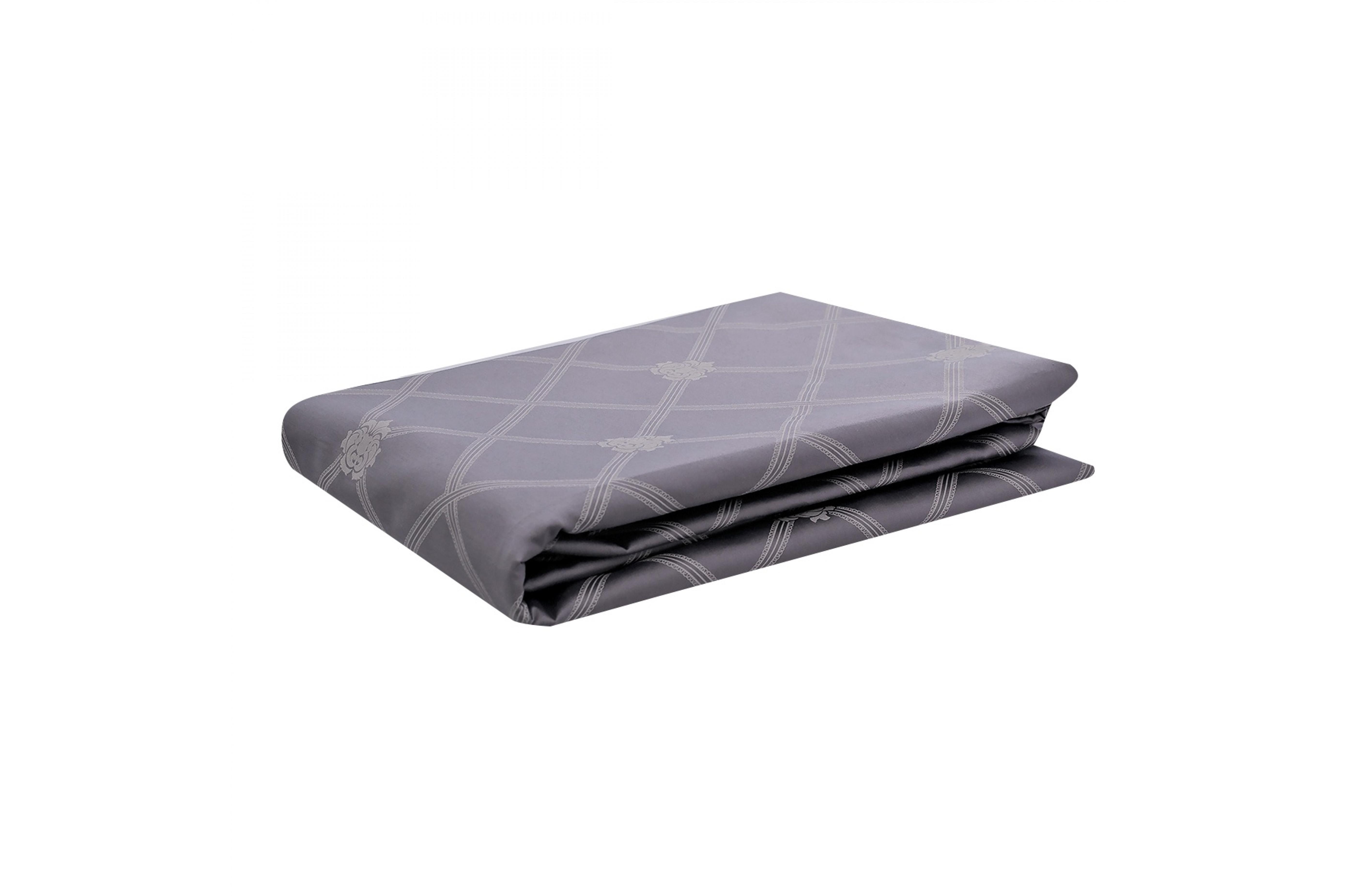 Простыня на резинке - Серый опал