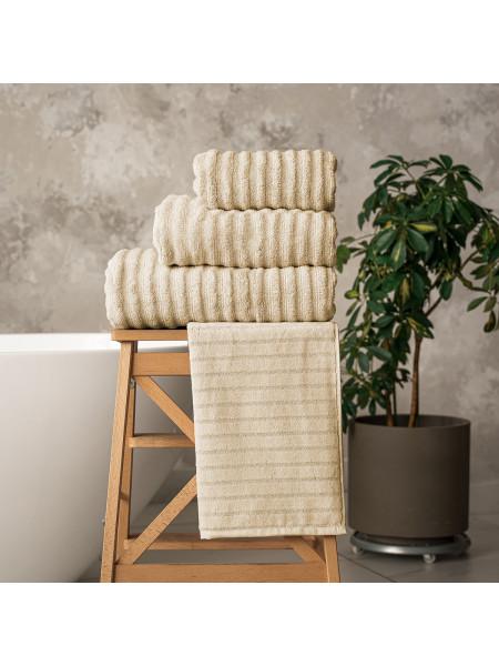 Махровое полотенце | ШАМПАНЬ