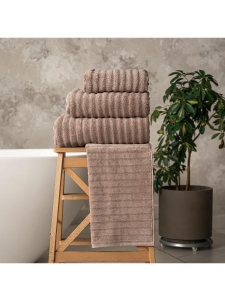 Махровое полотенце | КАПУЧИНО