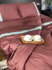 Комплект постельного белья Sимвол Home / Сливовый /  Коллекция Premium Line