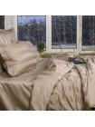 Постельное белье - Миндаль, Полоса 5*5 см. Египетский хлопок (мако сатин)