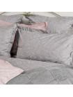 Постельное бельё Cатин    Серебристая дымка (Paisley)