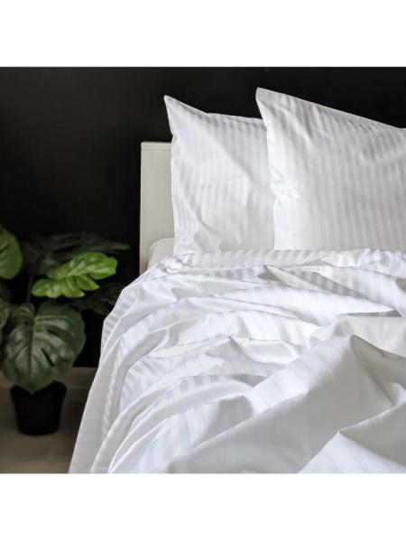 Постельное бельё Страйп-сатин | Отельный